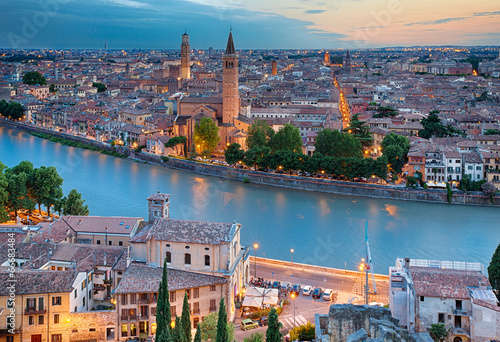canvas print picture Verona, Italien