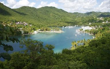 Saint Lucia Marigot Bay Caribbean 11