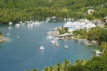 Saint Lucia Marigot Bay Caribbean 13