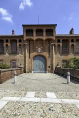 Frascarolo castle, Pavia. Color image