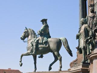 Detail of the monument to Maria Theresa. Vienna. Austria
