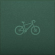 Bicycle Empty realistic black board in vector format