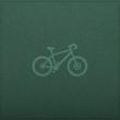 Bicycle Empty realistic black board in vector format