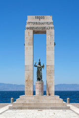 Monument on the Lungomare, Reggio Calabria, Italy