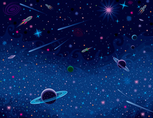 Horizontal Cosmic Background