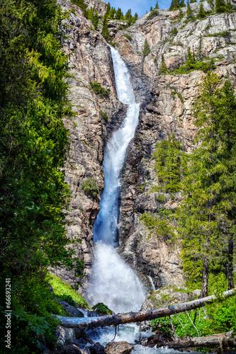 Mountain waterfall - 66693241