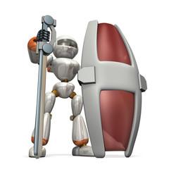 Robot to the defense impregnable