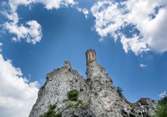 Maiden tower of Devin castle, Slovakia
