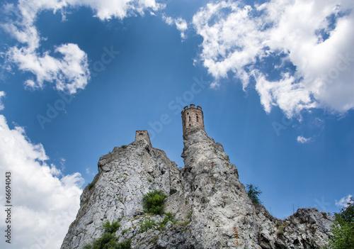 Papiers peints Ruine Maiden tower of Devin castle, Slovakia