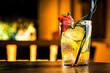 Leinwandbild Motiv Summer cocktail