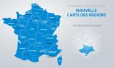 Réforme territoriale - Nouvelle carte des régions