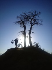 doğa ve bisiklet tutkusu