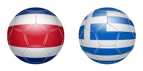 Football. Costa Rica - Greece