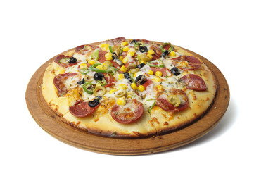 Sucuklu Pizza - Clipping Path Inside