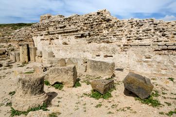 Sardegna,Oristano,  rovine dell'antica città di Tharros