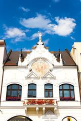 close up of house, Kosice, Slovakia