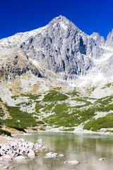 Lomnicky Peak and Skalnate Tarn,Vysoke Tatry(High Tatras),Slovak