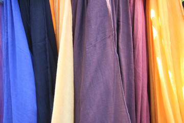 farbige Tücher