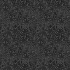 Black seamless rotated star pattern background