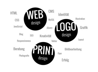 Designer Portfolio, Web, Logo, Print