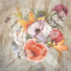 floral design, bouquet