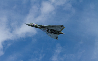 Vulcan bomber military aircraft