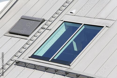 canvas print picture liegende Dachfenster
