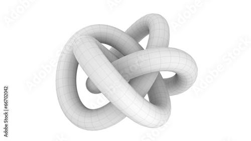 Aluminium Spiraal Endlosschlauch, geometrische Form