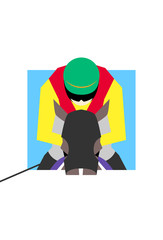horse racing player