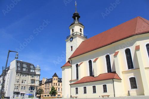 Markt mit St. Nikolaikirche in Forst/Lausitz - 66702277