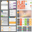 Flat web design - 66702443