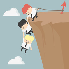 Business Team Work for Success