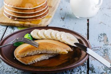 Pancake banana