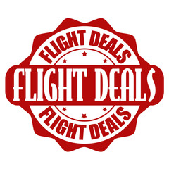 Flight offer stamp or label