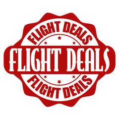 Flight offer stamp or label
