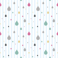 rain repeat pattern