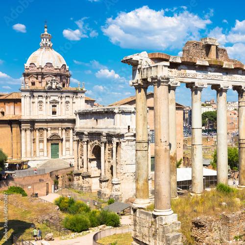 Roman Forum, Rome, Italy - 66703627