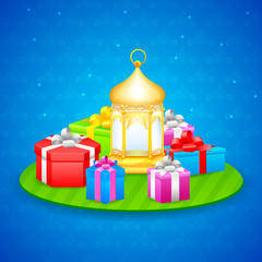 Gift for Eid festival