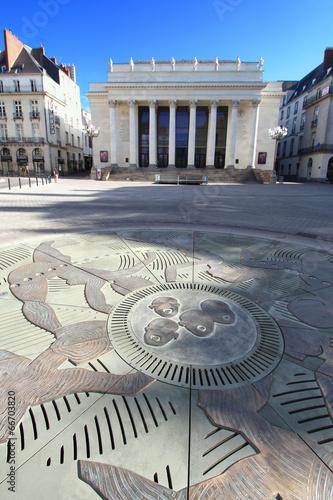Papiers peints Opera, Theatre France / Nantes - place Graslin