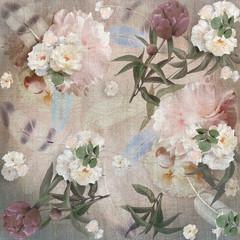 floral design peonies, bouquet