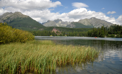 High Tatra mountains, lake Strbske, Slovakia, Europe