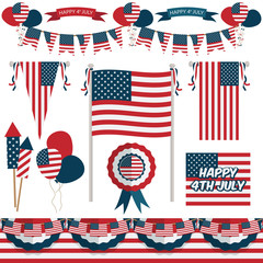 usa decorations
