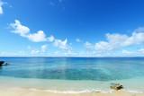 久高島の綺麗な海と夏空 - Fine Art prints