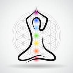 meditation blume des lebens arme