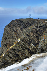 North Cape cliff