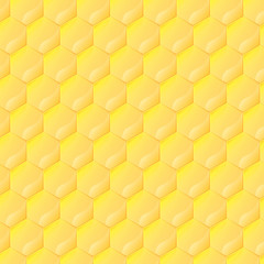 Honeycomb vector background