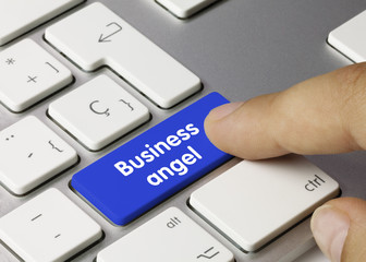 Business angel. Keyboard