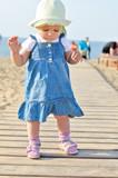 baby is walking