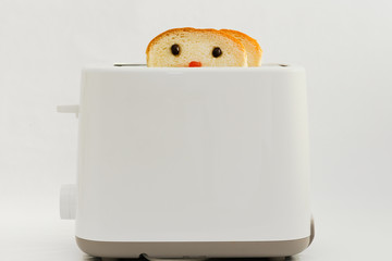 Cute decorate toaster