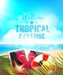 Summer Paradise vector design
